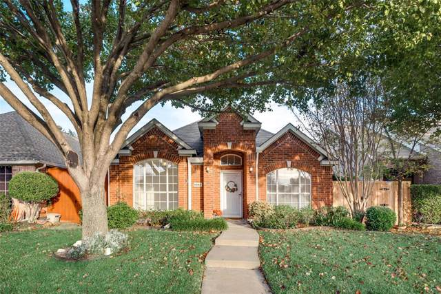 6844 Saddletree Trail, Plano, TX 75023 (MLS #14227065) :: Caine Premier Properties