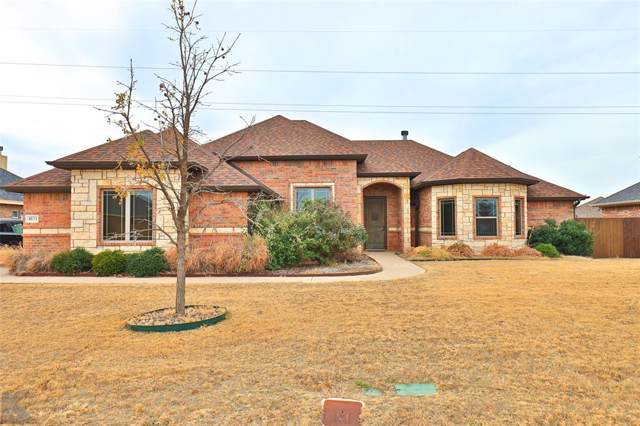 4833 Velta Lane, Abilene, TX 79606 (MLS #14227085) :: Ann Carr Real Estate
