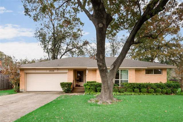 1920 Morningside Drive, Garland, TX 75042 (MLS #14227107) :: The Chad Smith Team