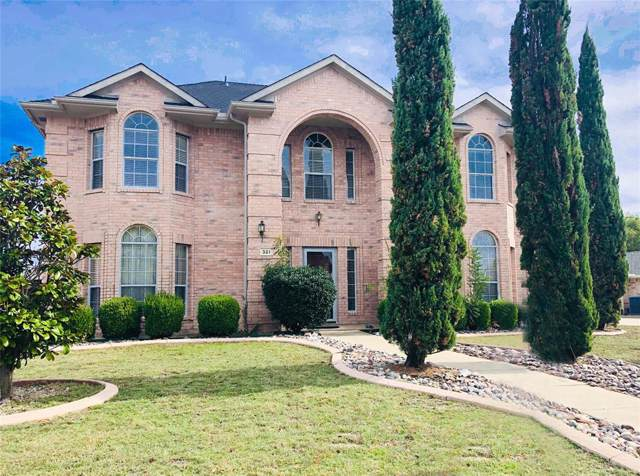 321 Fountain Drive, Murphy, TX 75094 (MLS #14227136) :: RE/MAX Town & Country