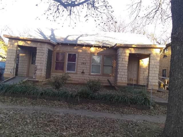 707 Baylor Street, Wichita Falls, TX 76301 (MLS #14227151) :: Caine Premier Properties