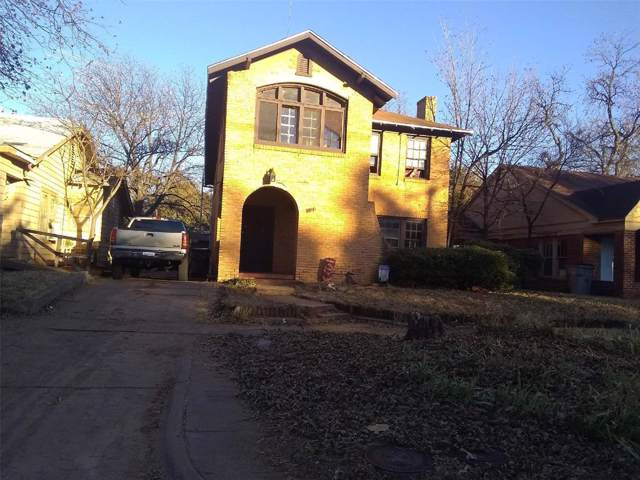 709 Baylor Street, Wichita Falls, TX 76301 (MLS #14227172) :: Caine Premier Properties