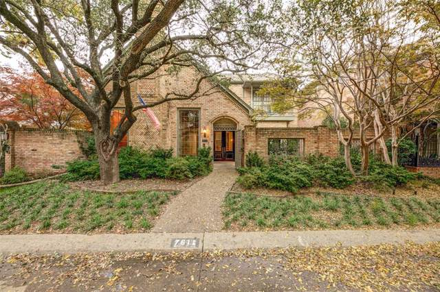7611 Marquette Street, Dallas, TX 75225 (MLS #14227193) :: RE/MAX Town & Country