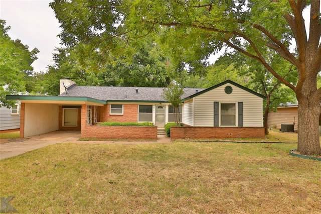 4042 Monticello Street, Abilene, TX 79605 (MLS #14227289) :: The Tonya Harbin Team