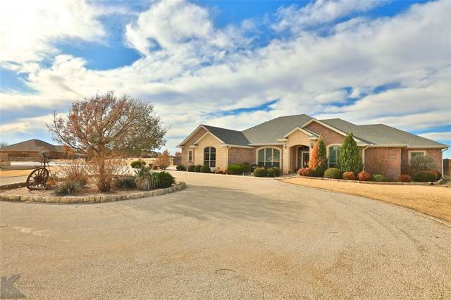 202 Peach Blossom Drive, Abilene, TX 79602 (MLS #14227342) :: Ann Carr Real Estate