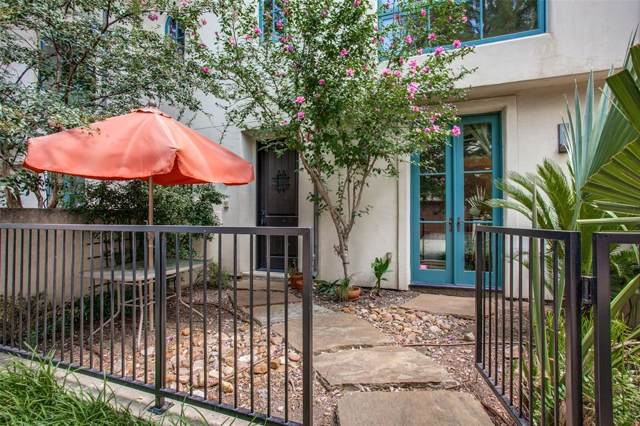 4406 Bowser Avenue #8, Dallas, TX 75219 (MLS #14227422) :: Tenesha Lusk Realty Group