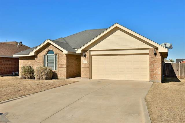 218 Lollipop Trail, Abilene, TX 79602 (MLS #14227505) :: Ann Carr Real Estate