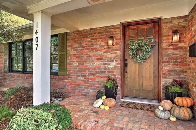 1407 Western Hills Drive, Sherman, TX 75092 (MLS #14227507) :: Team Hodnett