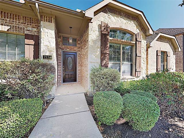 2134 Sleepy Hollow Trail, Frisco, TX 75033 (MLS #14227508) :: The Good Home Team