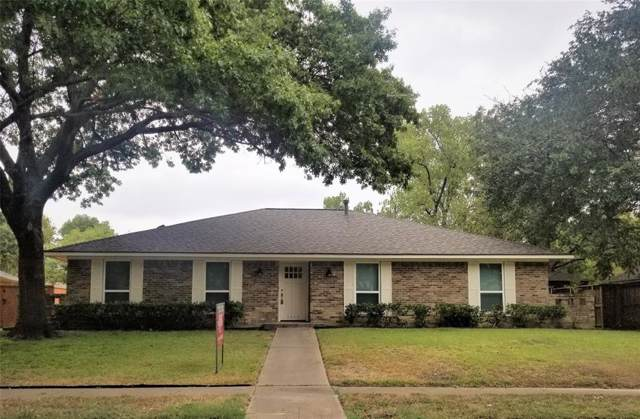 1413 Scottsboro Lane, Richardson, TX 75082 (MLS #14227565) :: RE/MAX Town & Country