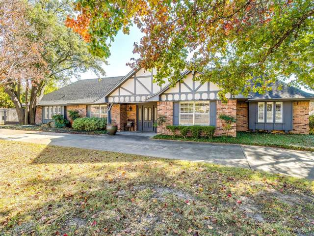 7205 Falling Springs Road, Benbrook, TX 76116 (MLS #14227635) :: RE/MAX Town & Country