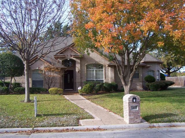 1409 Wheeler Drive, Mansfield, TX 76063 (MLS #14227675) :: RE/MAX Town & Country