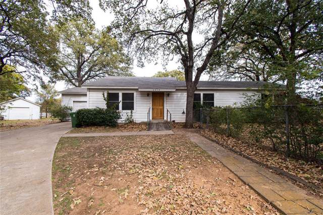 2613 2nd Street, Bedford, TX 76021 (MLS #14227707) :: RE/MAX Town & Country