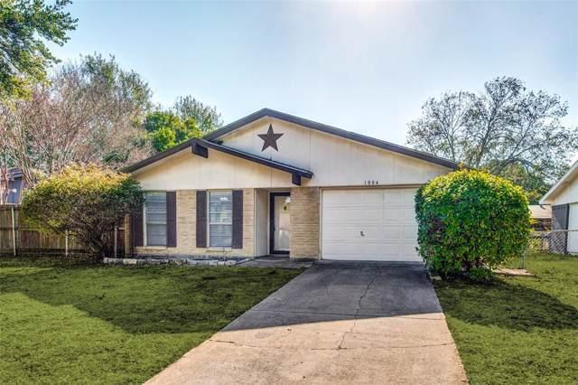 1004 Shenandoah Drive, Plano, TX 75023 (MLS #14227716) :: RE/MAX Town & Country