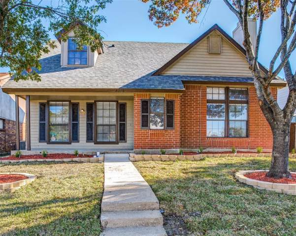 4016 O B Crowe Drive, Dallas, TX 75227 (MLS #14227732) :: RE/MAX Town & Country