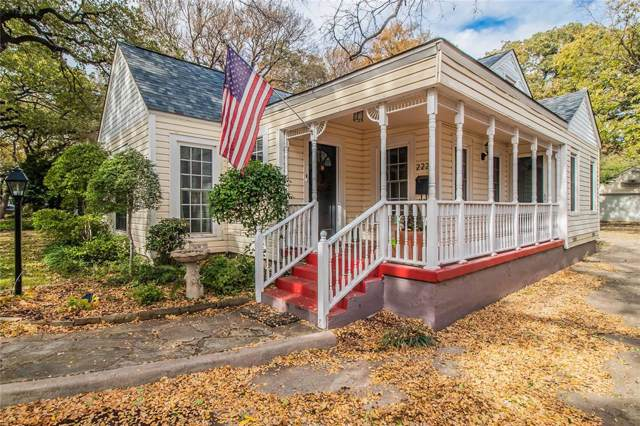 2225 Goldenrod Avenue, Fort Worth, TX 76111 (MLS #14227754) :: RE/MAX Town & Country