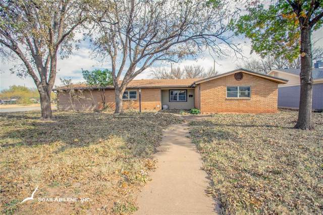 2133 Meadowbrook Drive, Abilene, TX 79603 (MLS #14227796) :: Century 21 Judge Fite Company
