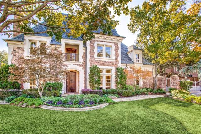 6444 Waggoner Drive, Dallas, TX 75230 (MLS #14227812) :: Van Poole Properties Group