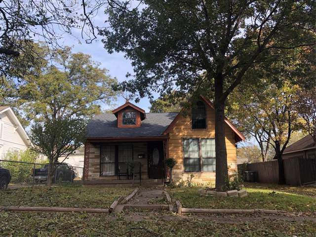 2615 Emmett, Dallas, TX 75211 (MLS #14227895) :: Real Estate By Design