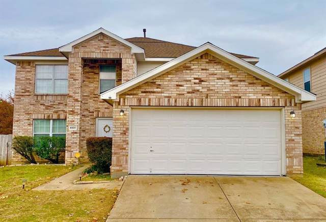 4601 Sea Ridge Drive, Fort Worth, TX 76133 (MLS #14227918) :: Real Estate By Design