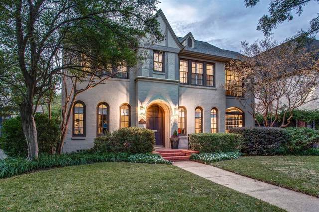 4328 Livingston Avenue, Highland Park, TX 75205 (MLS #14227930) :: RE/MAX Town & Country