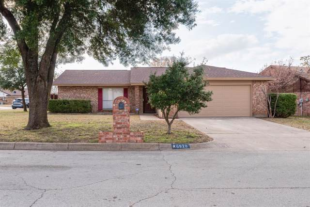 6920 Westglen Drive, Fort Worth, TX 76133 (MLS #14227931) :: Vibrant Real Estate