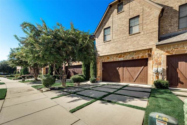 2825 Creekway Drive, Carrollton, TX 75010 (MLS #14227950) :: Tenesha Lusk Realty Group