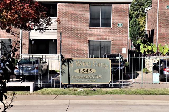 8545 Midpark Road #3, Dallas, TX 75240 (MLS #14227960) :: RE/MAX Town & Country