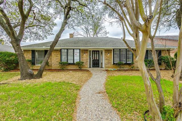 7109 Bluefield Drive, Dallas, TX 75248 (MLS #14228040) :: RE/MAX Town & Country