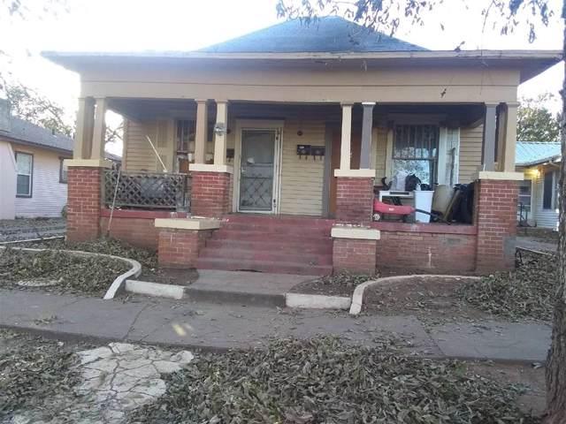 710 Warford Street, Wichita Falls, TX 76301 (MLS #14228082) :: Vibrant Real Estate
