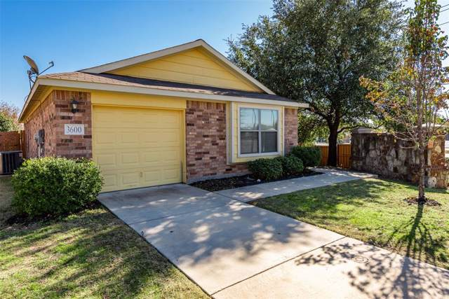 3600 Venera Street, Fort Worth, TX 76106 (MLS #14228265) :: Real Estate By Design