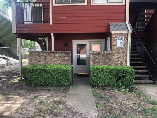 9839 Walnut Street #111, Dallas, TX 75243 (MLS #14228283) :: The Mitchell Group