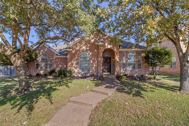 1439 Pine Bluff Drive, Allen, TX 75002 (MLS #14228308) :: RE/MAX Town & Country