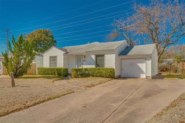 11307 Aledo Drive, Dallas, TX 75228 (MLS #14228311) :: Robbins Real Estate Group