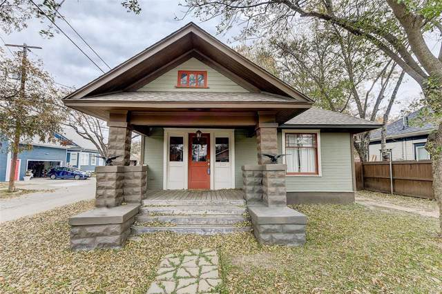 1501 6th Avenue, Fort Worth, TX 76104 (MLS #14228314) :: RE/MAX Town & Country