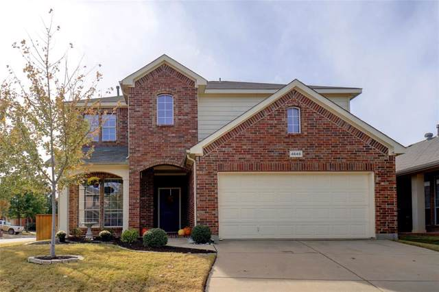 4648 Prickly Pear Drive, Fort Worth, TX 76244 (MLS #14228349) :: Real Estate By Design