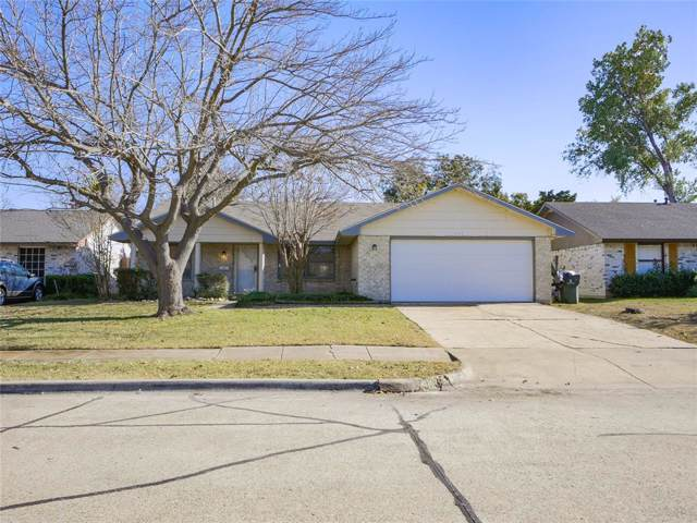 472 Clearfield Drive, Garland, TX 75043 (MLS #14228432) :: RE/MAX Town & Country