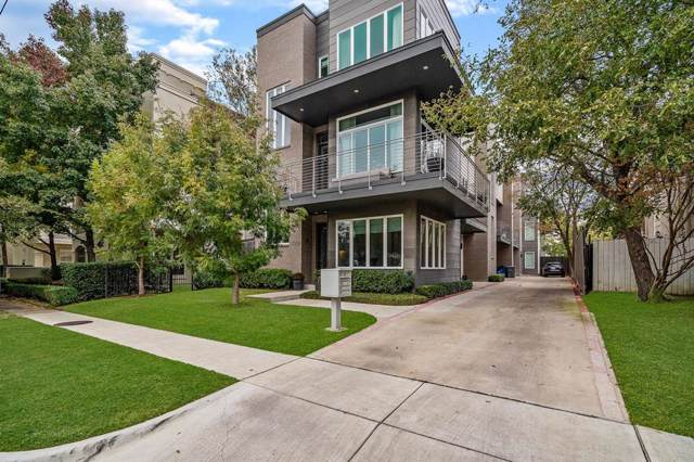 4015 Wycliff Avenue #1, Dallas, TX 75219 (MLS #14228465) :: Tenesha Lusk Realty Group