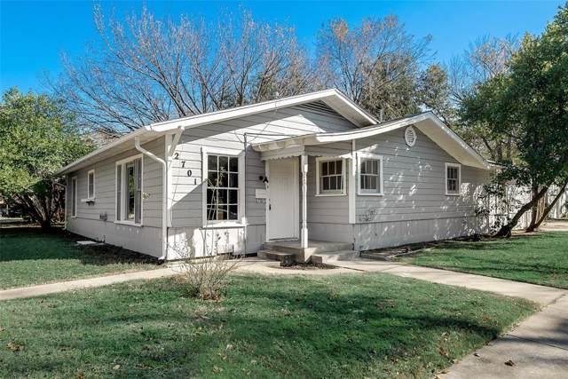 2701 Halbert Street, Fort Worth, TX 76112 (MLS #14228580) :: Team Tiller