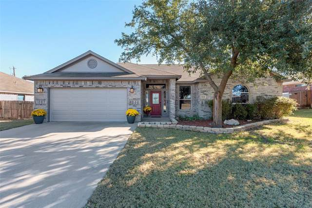 1818 Sandpiper Drive, Weatherford, TX 76088 (MLS #14228639) :: The Kimberly Davis Group