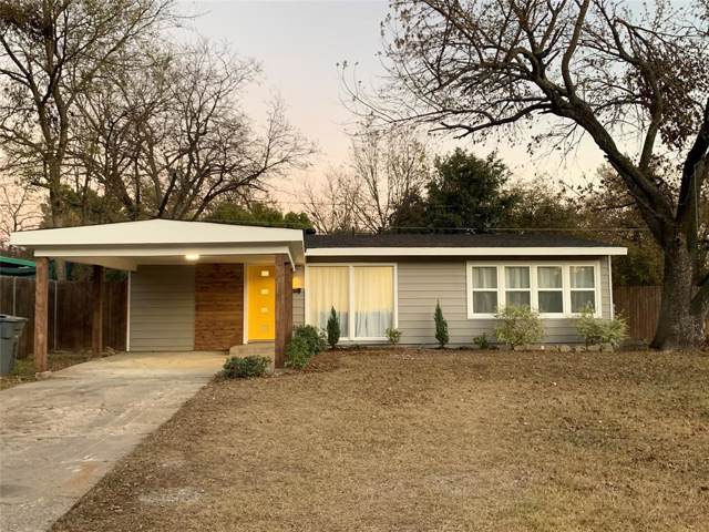 10430 Sylvia Drive, Dallas, TX 75228 (MLS #14228686) :: RE/MAX Town & Country