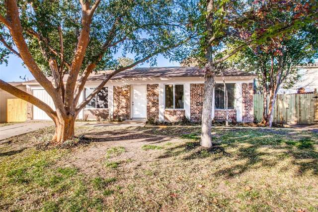 1417 Eagle Pass Drive, Garland, TX 75040 (MLS #14228690) :: RE/MAX Town & Country