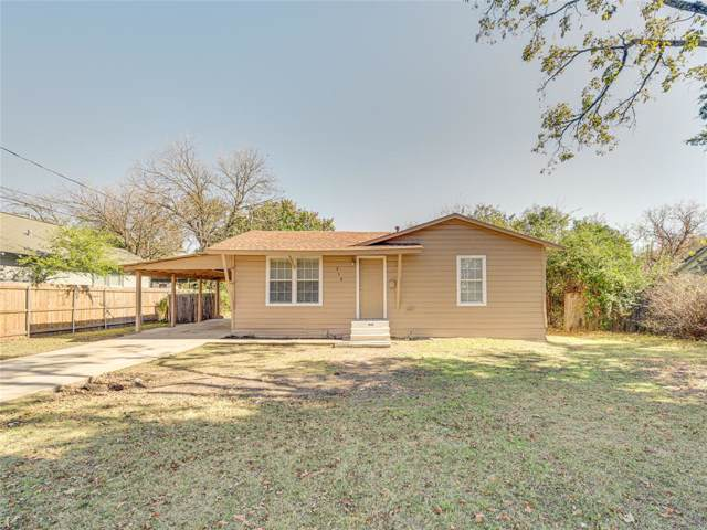312 Dunn Street, Waxahachie, TX 75165 (MLS #14228721) :: All Cities Realty