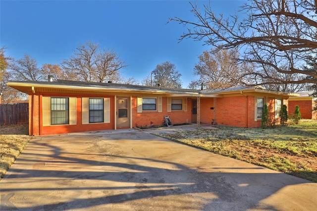 3954 State Street, Abilene, TX 79603 (MLS #14228724) :: Baldree Home Team