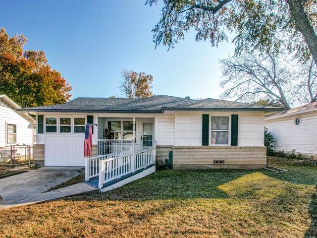 1812 Boyd Street, Denton, TX 76209 (MLS #14228751) :: Ann Carr Real Estate