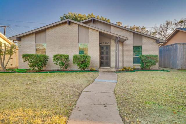 4960 Arbor Glen Road, The Colony, TX 75056 (MLS #14228858) :: Ann Carr Real Estate