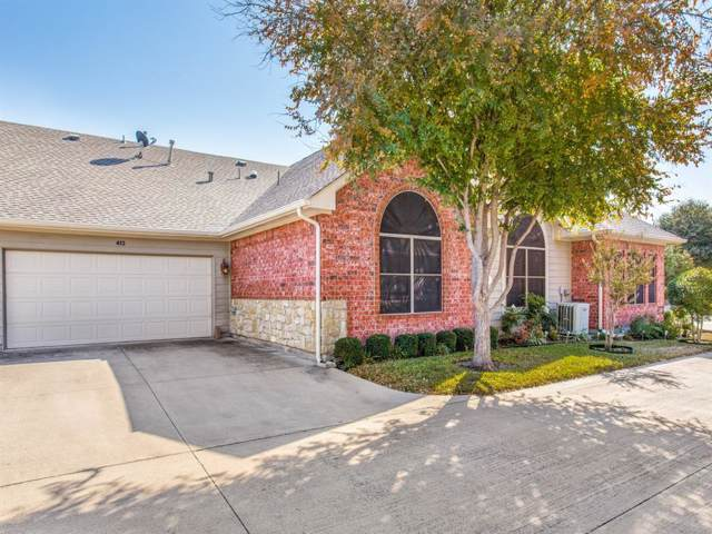 3130 Camellia Rose Drive #413, Fort Worth, TX 76116 (MLS #14228893) :: Real Estate By Design