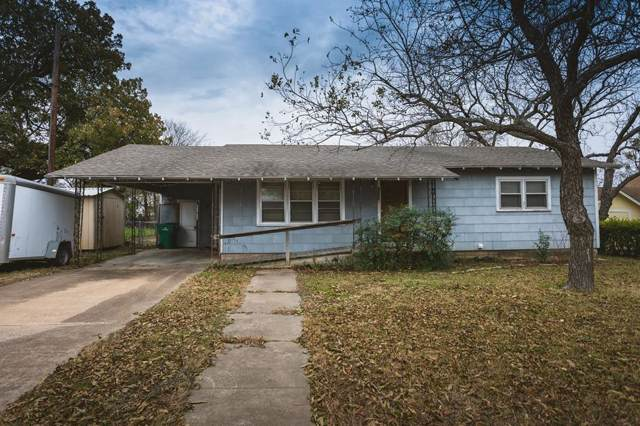 407 E Morgan, Meridian, TX 76665 (MLS #14228993) :: RE/MAX Town & Country