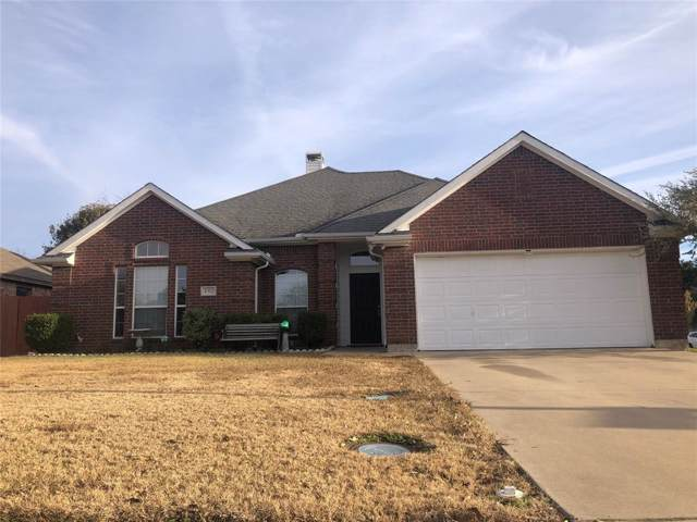 152 Lexington Drive, Terrell, TX 75160 (MLS #14229028) :: RE/MAX Town & Country