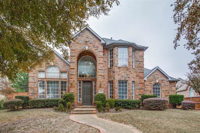 8101 Clayton Drive, Plano, TX 75025 (MLS #14229030) :: The Good Home Team